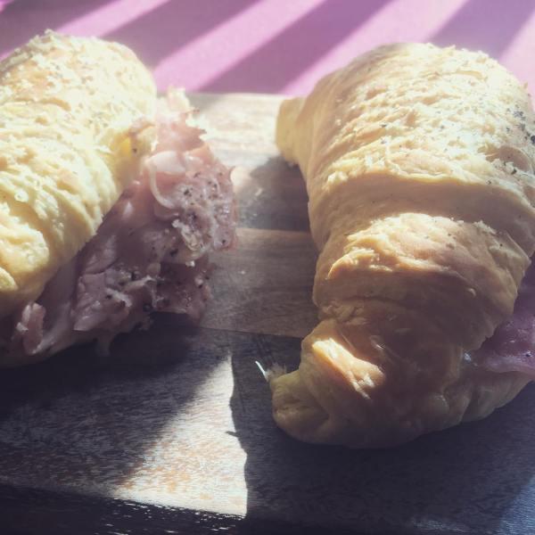 Havarti & Leg Ham Croissants