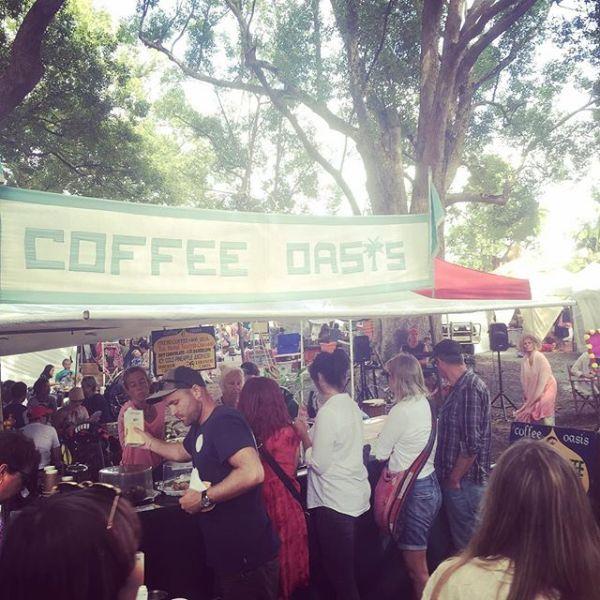 Chai time @ Coffee Oasis