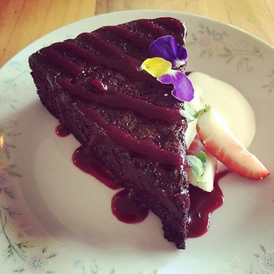 The Spotted Pig's Flourless Chocolate Cake
