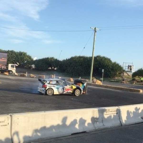 I need to learn how to take roundabouts like Ogier
