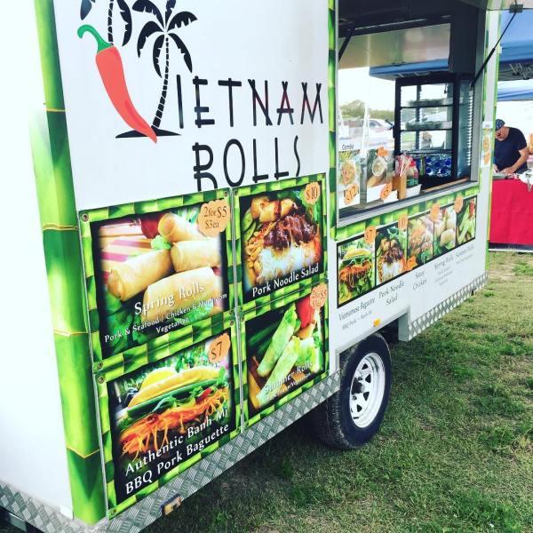 Banh-mi food truck @ Urunga riverside market