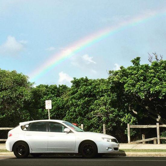 Rainbow road...