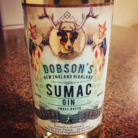 World Gin Day again, with Steve's Sumac Special - Dobson's Sumac Gin