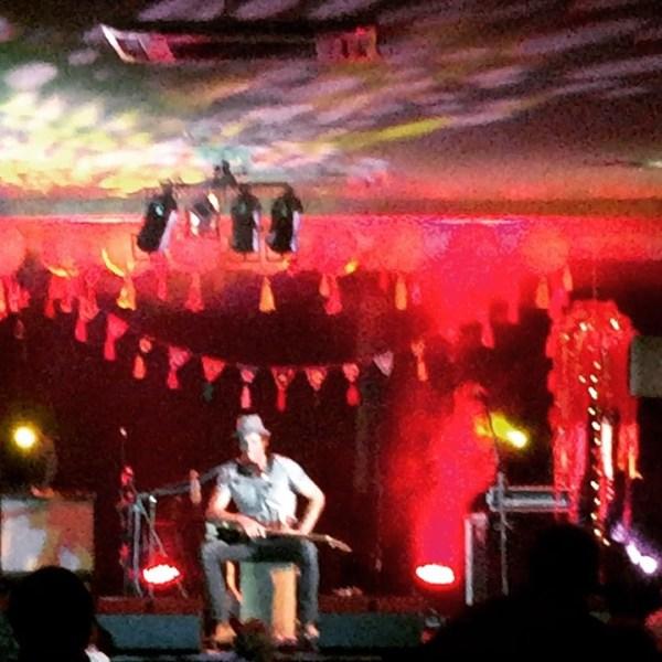 @juzziesmithofficial harmonic singing at Bello Winter Music Festival