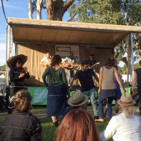 Victory Song by The Easterns at Bangalow BBQ & Bluegrass Festival