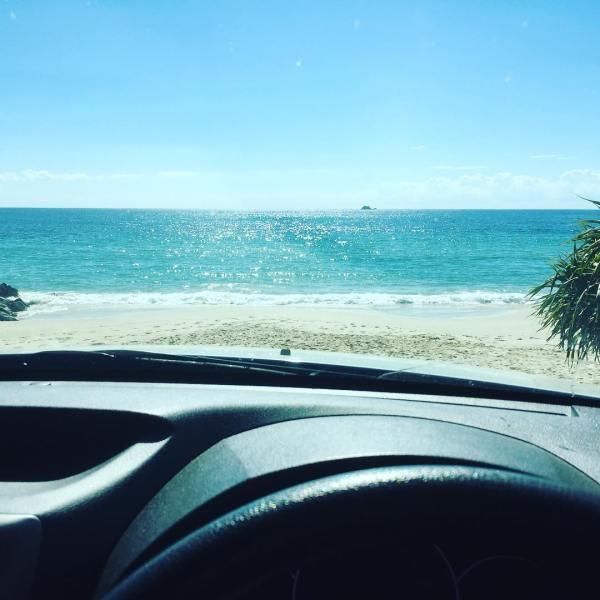 Let's drive to Julian Rocks...