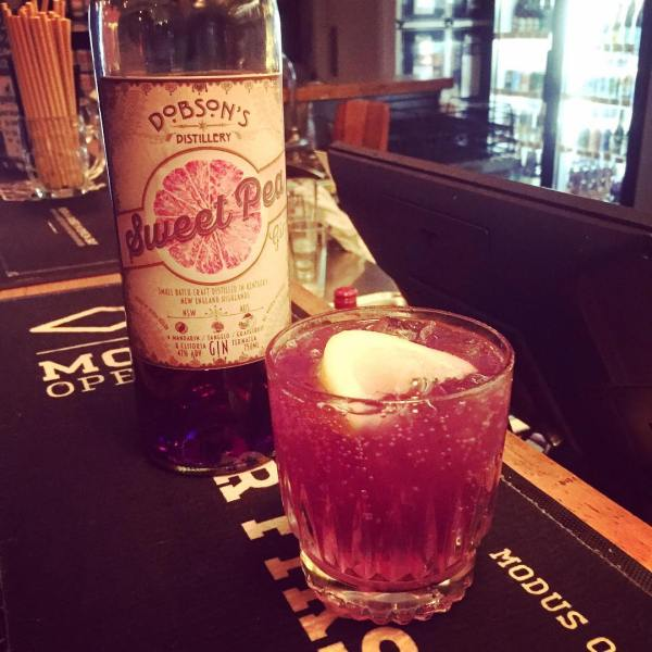 Dobson's new Sweet Pea Gin