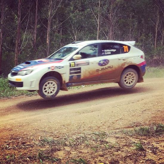 Flying Rex @rallyaustralia