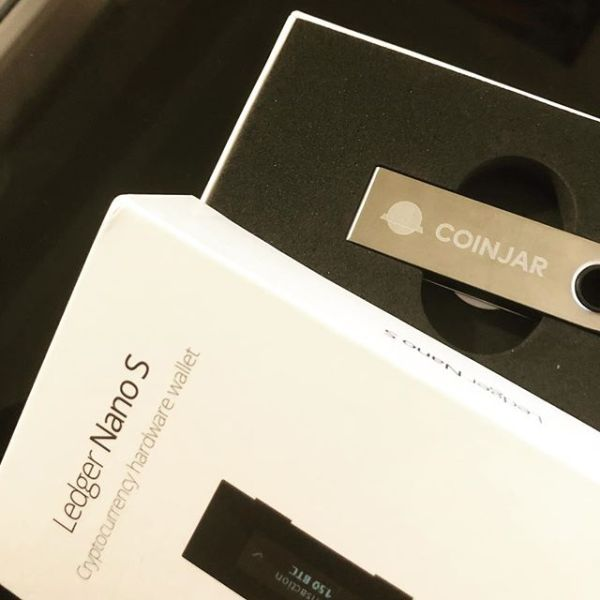 Ledger Nano S from CoinJar @getcoinjar