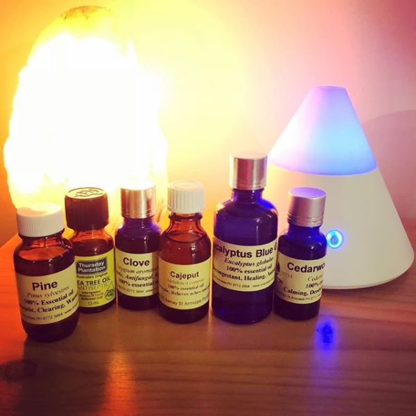 Getting back into Aromatherapy now that there's no aquarium in my bedroom