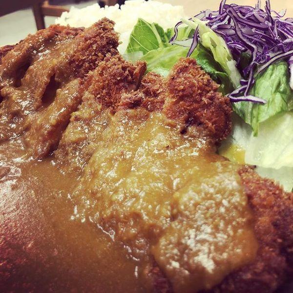 Chicken katsu curry plate