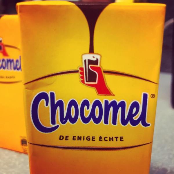 Special delivery for a homesick Dutch girl... Chocomel!