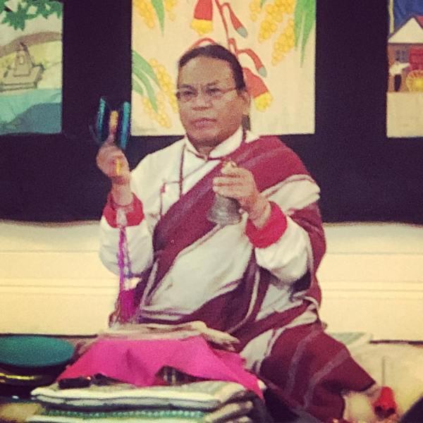 Ngakpa Karma Lhundup Rinpoche @k.lhundup preparing for Changbu Gyatsa