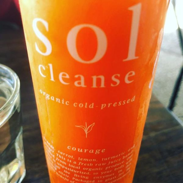 Organic cold-pressed courage