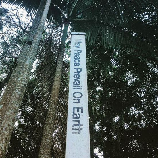 May peace prevail on Earth...