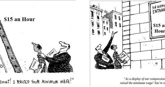 Big Labor, Minimum Wage, Laid Bare
