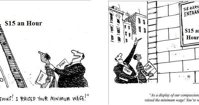 Big Labor, Minimum Wage, Laid Bare