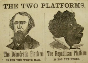 political signs 1850s