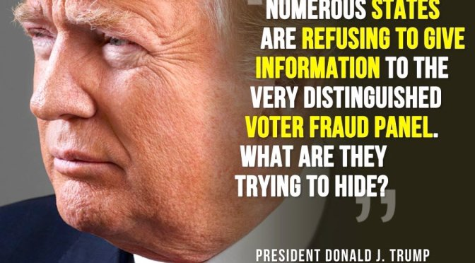No Voter Fraud Here!