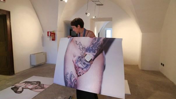 Installing Enrico Carpinello work_#1