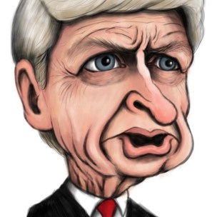 wenger caricature