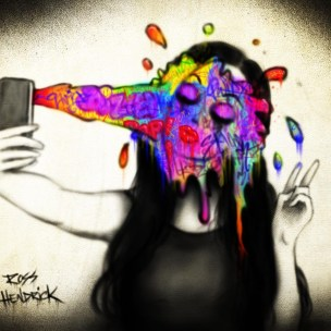 selfie splash