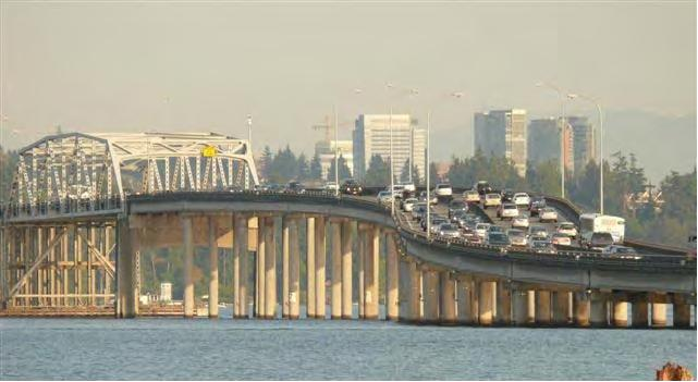 520 Bridge with traffic