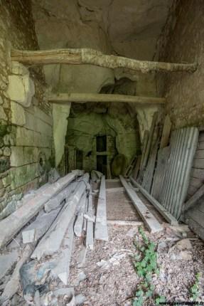 La cave.