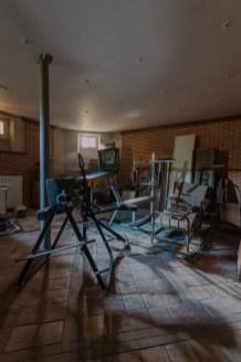 Ou château Ikea. Ancien centre de formation des ouvriers de l'enseigne Suèdoise. Aujourd'hui abandonné.