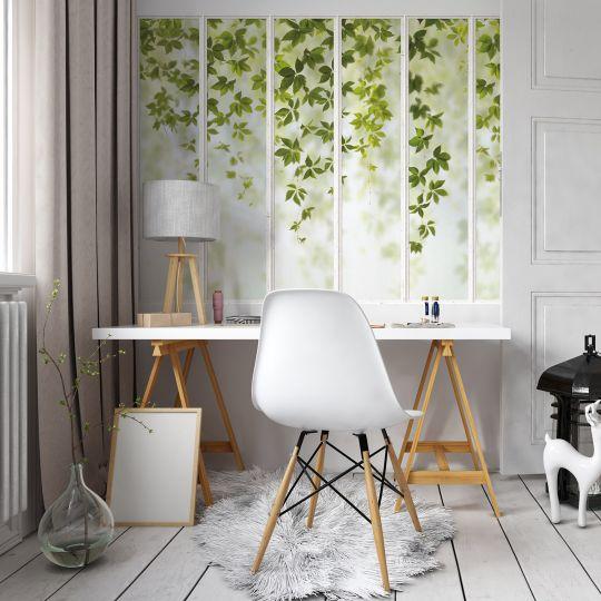 panoramic-wallpaper-white-small-loft-windows-and-virginia-creeper