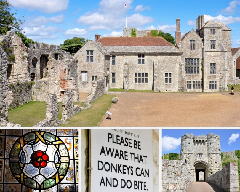Carisbrooke Castle, Isle of Wight - The Prisoner King, Donkeys and Ghosts - www.rossiwrites.com