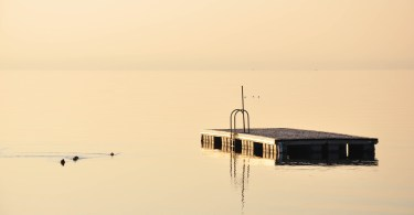 White light, Bardolino, Lake Garda, Italy