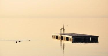 White light, Bardolino, Lake Garda, Italy