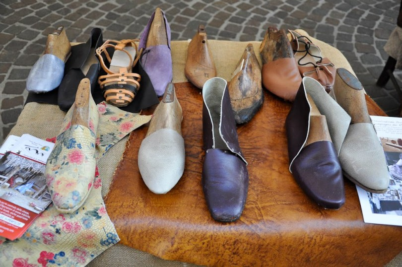 Handmade artisan shoes - Vicenza, Italy - www.rossiwrites.com
