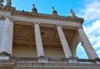 The upper loggia - Palazzo Chiericati - Vicenza, Veneto - rossiwrites.com