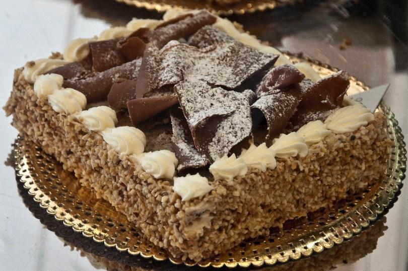 Cake, Pasticceria Secco, Vicenza, Italy - www.rossiwrites.com