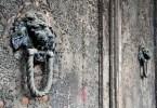 Lionhead knocker, Italy - www.rossiwrites.com