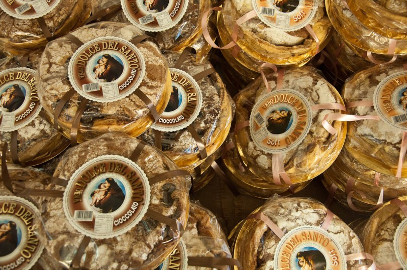 Dolce del Santo - Sant' Antonio's cakes, Padua, Veneto, Italy - www.rossiwrites.com
