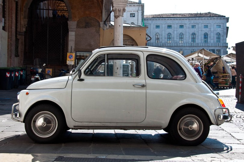 Fiat 500, Padua, Veneto, Italy - www.rossiwrites.com