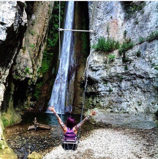 Molina Waterfall park, Italy - @brittanywanderlust