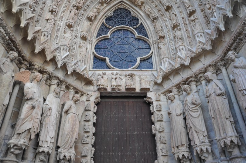 Outside view, Rheims Cathedral, Rheims, France