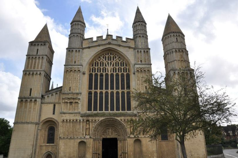 Rochester Cathedral, Kent, UK - www.rossiwrites.com