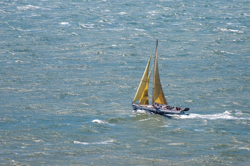 A boat from Wales, Round the island race 2016, Isle of Wight, UK - www.rossiwrites.com