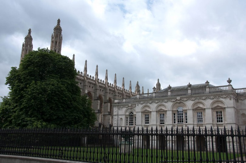 King's College, Cambridge, England - www.rossiwrites.com