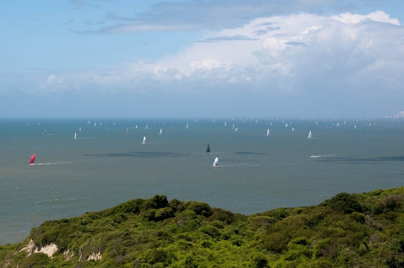 Round the island race 2016, Isle of Wight, UK - www.rossiwrites.com
