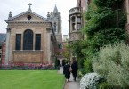 Students, Pembroke College, Cambridge, England - www.rossiwrites.com