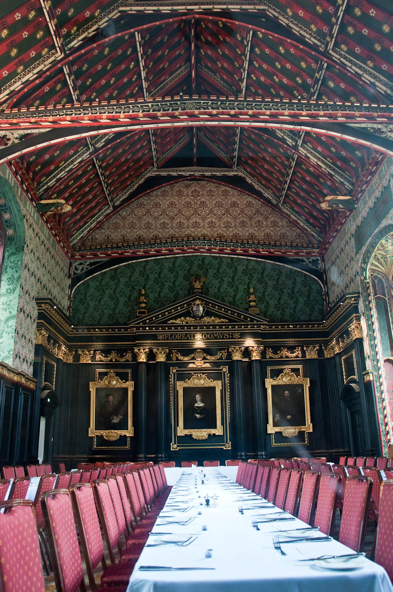 The Old Hall, Queen's College, Cambridge, England - www.rossiwrites.com