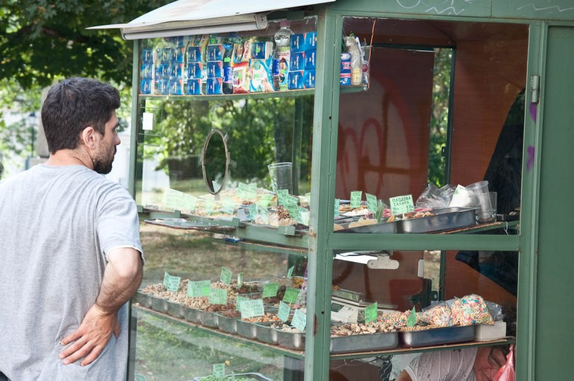 Nuts and dry fruit hut, Sofia, Bulgaria - www.rossiwrites.com