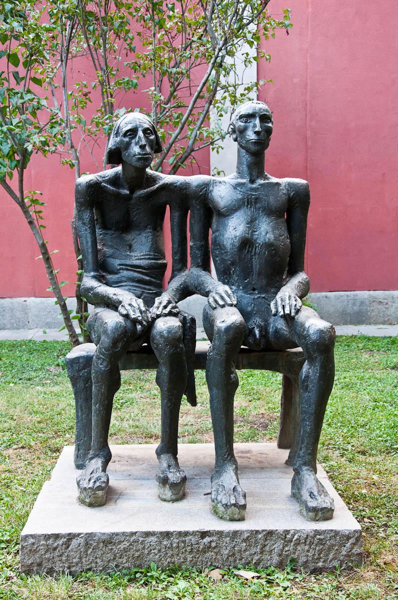 Sculpture, Sofia City Art Gallery, Sofia, Bulgaria - www.rossiwrites.com