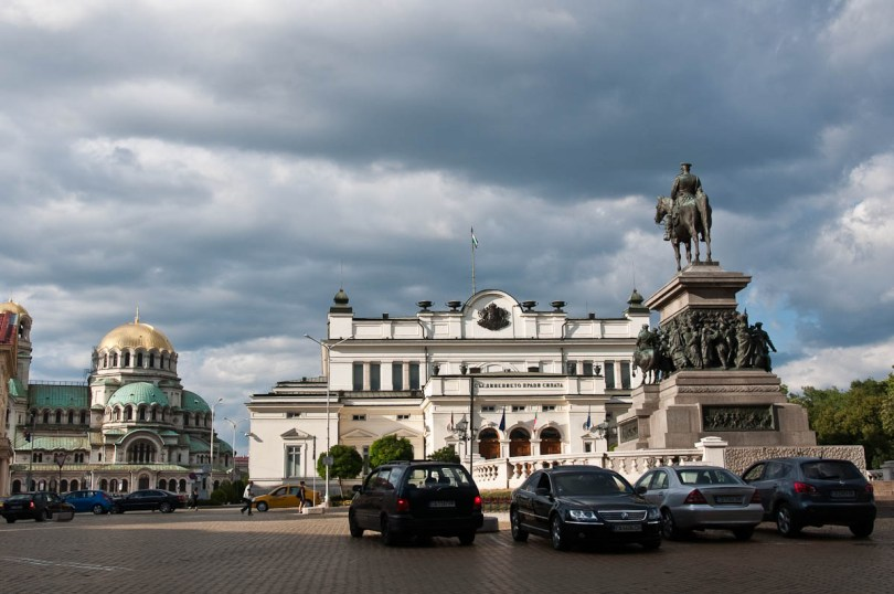 St. Alexander Nevski Cathedral, The Parliament and Tsar Liberator Monument, Sofia, Bulgaria - www.rossiwrites.com